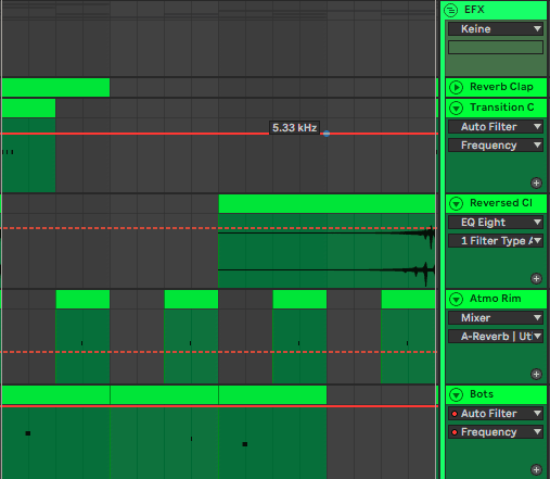 Atmos and Effects in Ableton Live 10
