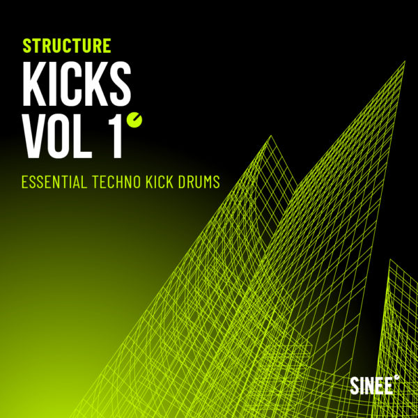 Kicks Vol. 1 - Essential Techno Kick Drums 1