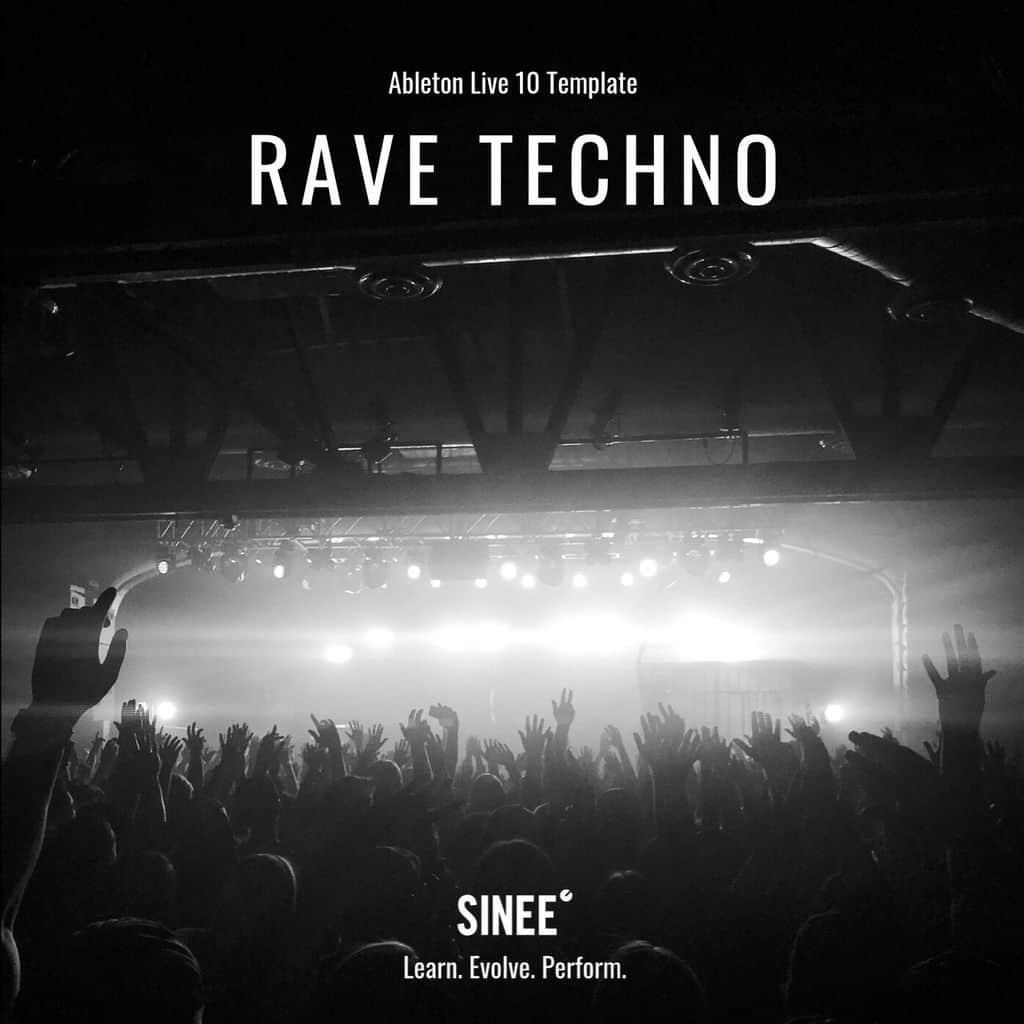Ableton Live 10 Micro Template – Rave Techno
