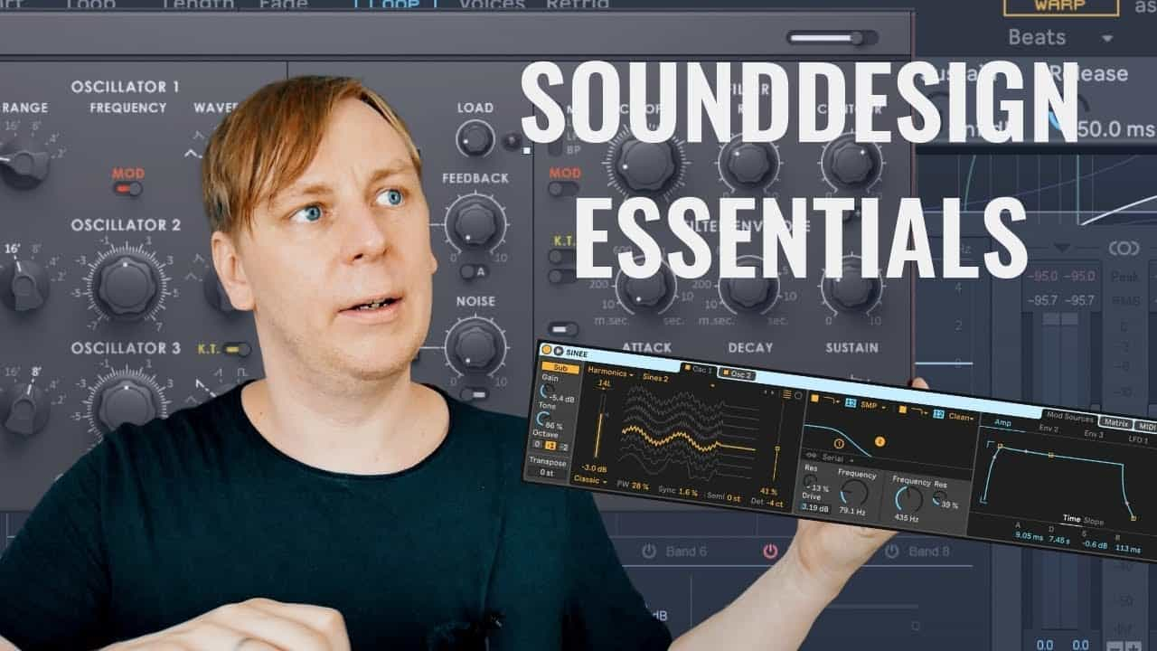 Mache deinen eigenen Sound in Ableton – Sounddesign & Synthesizer Tutorial