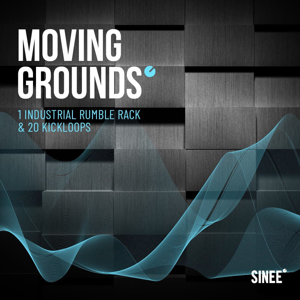 Moving Grounds – Techno Rumble Rack für Ableton Live von SINEE