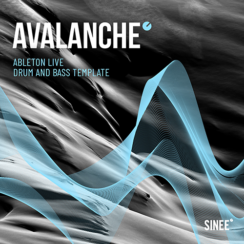 Drum and Bass Template von SINEE für Ableton Live – Avalanche