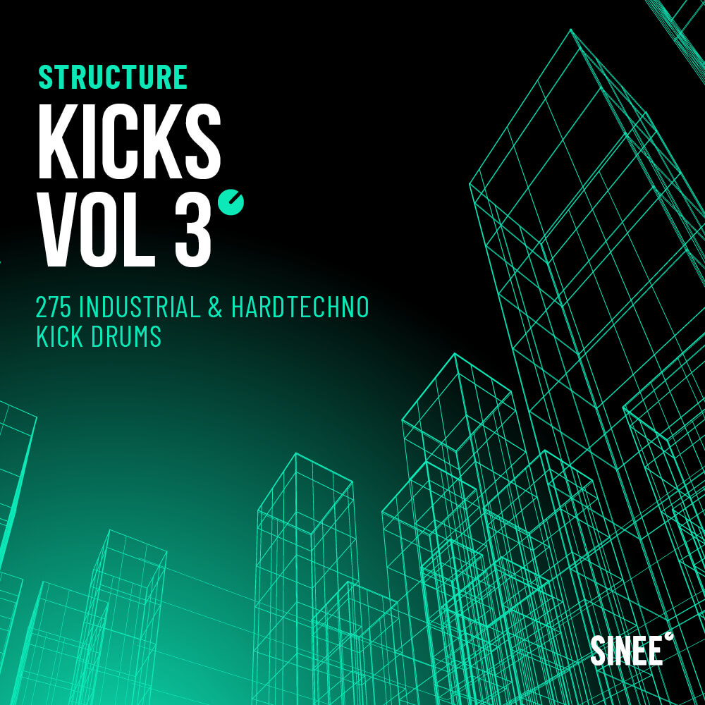 Kicks Vol. 3 – Industrial & Hard Techno Kick Drums