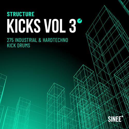 Kicks Vol. 3 – Industrial & Hard Techno Kick Drums