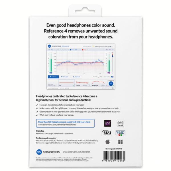 Sonarworks – Reference 4 Headphone Edition (Lizenz) 2