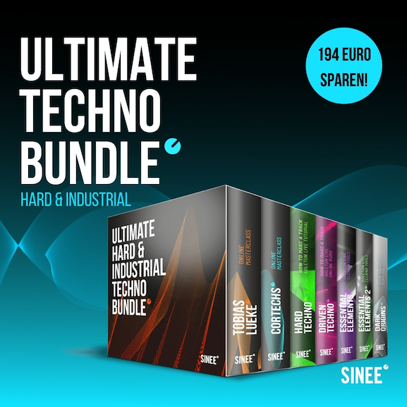 Ultimate Hard & Industrial Techno Bundle – Online Masterclasses, How To Make A Track Tutorials & Ableton Live Racks