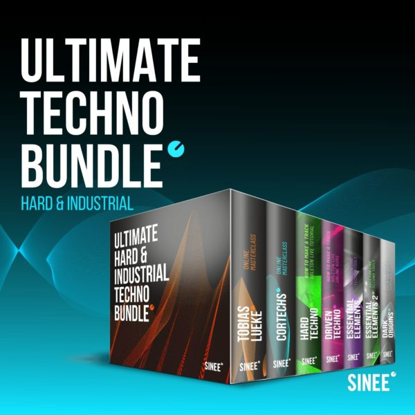 Ultimate Hard & Industrial Techno Bundle - Online Masterclasses, How To Make A Track Tutorials & Ableton Live Racks 1