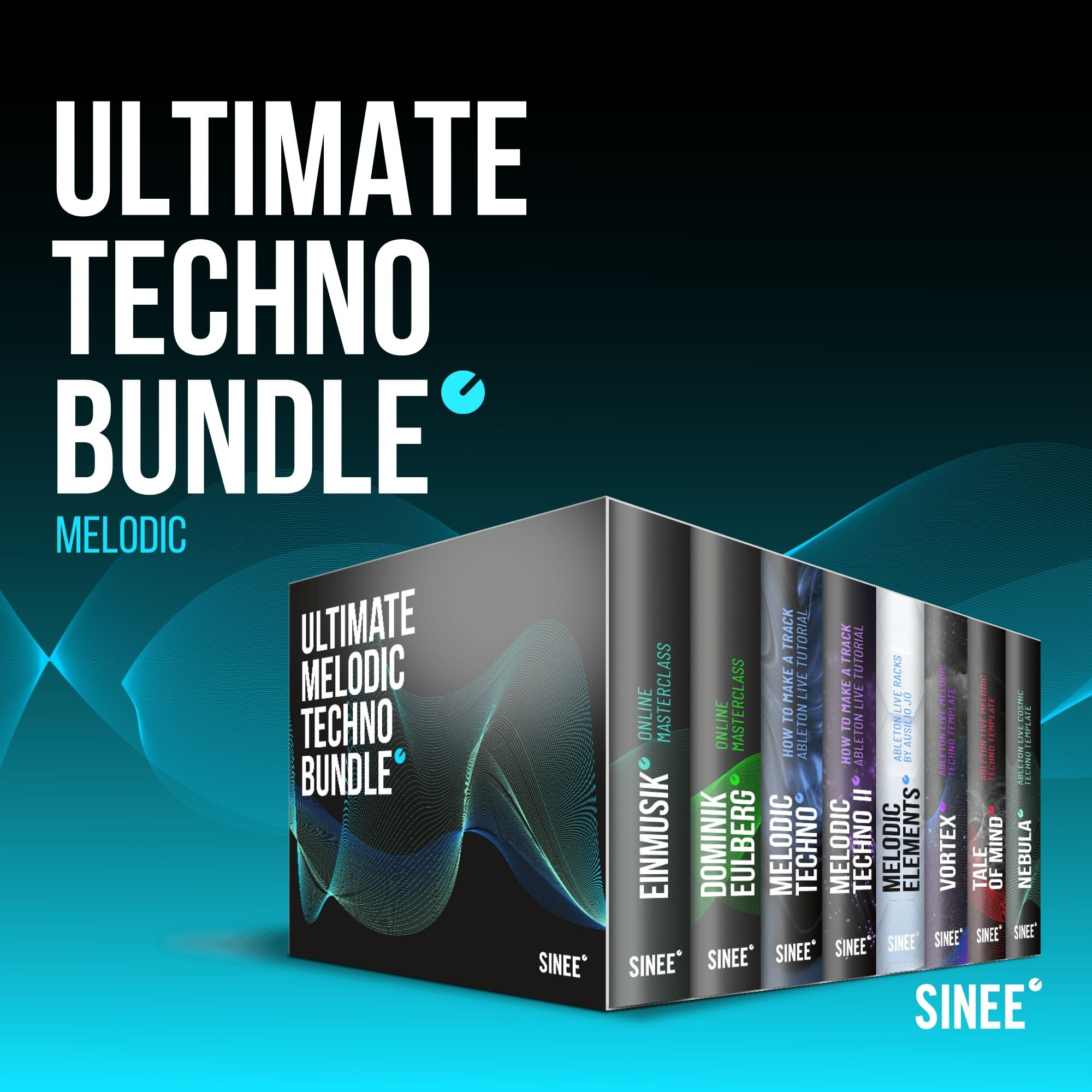 Ultimate Melodic Techno Bundle – Online Masterclasses, Ableton Live Racks & Templates
