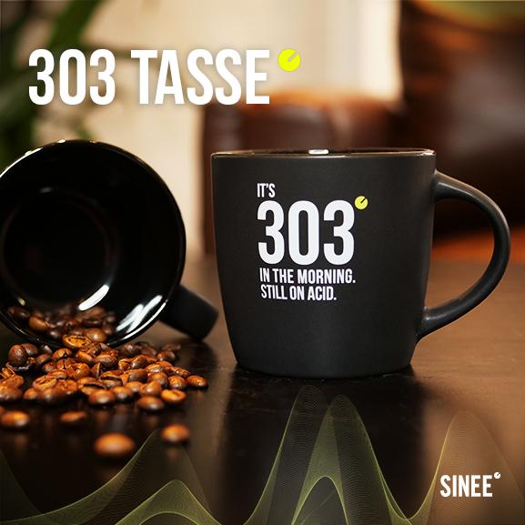 303 Tasse - Still On Acid - Schwarz 1