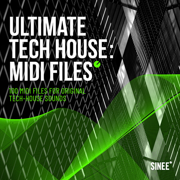 Ultimate Tech House: MIDI Files