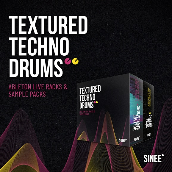 Textured Techno Drums Bundle – Ableton Live Racks & Samples