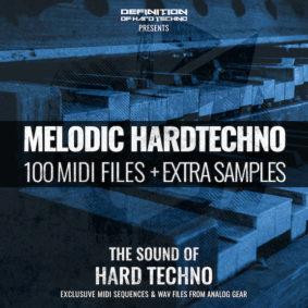 MELODIC HARDTECHNO MIDI PACK + WAV SAMPLES