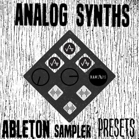 Raw Loops - Analog Synths - Ableton Sampler Presets 1